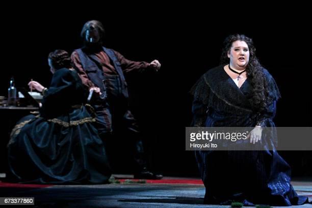 The Juilliard School presents Janacek's Katya Kabanova at Peter Jay Sharp Theater on Wednesday night April 19 2017 It's directed by Stephen Wadsworth...
