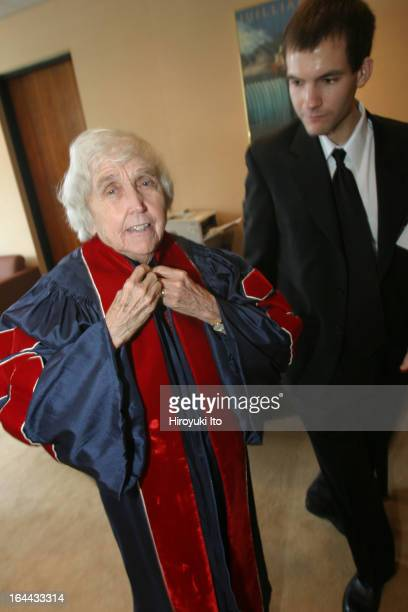 The Juilliard School's 101st Commencement Ceremony on Friday May 26 2006This imageElizabeth J McCormack