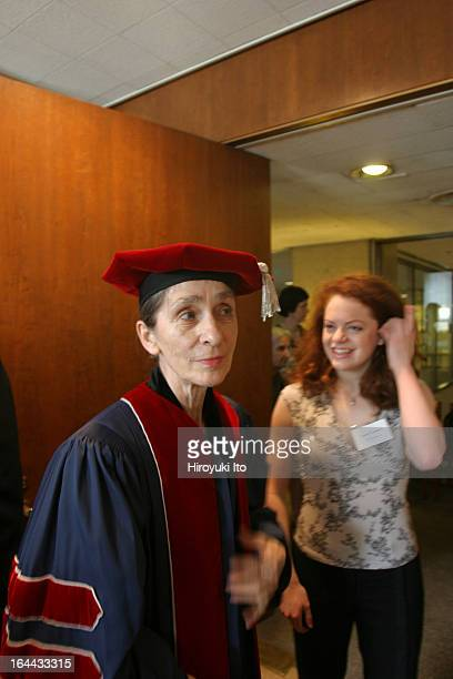 The Juilliard School's 101st Commencement Ceremony on Friday May 26 2006This imagePina Bausch