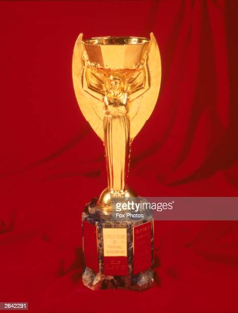 The Jules Rimet World Cup trophy
