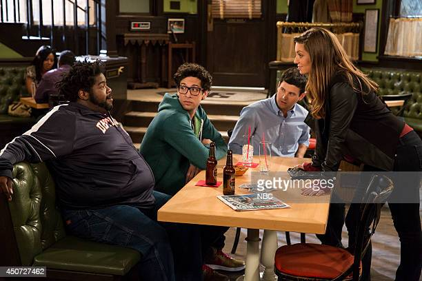 UNDATEABLE The Julius Effect Episode 107 Pictured Ron Funches as Shelly Rick Glassman as Burski Brent Morin as Justin Bianca Kajlich as Leslie