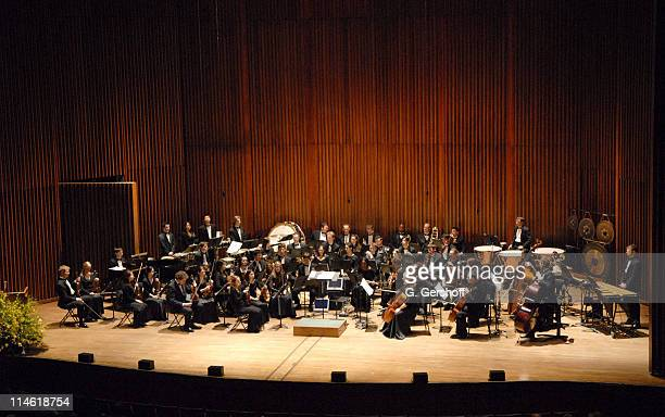The Julliard Orchestra during Good Night Alice Cocktail Party and Gala Concert April 30 2007 at Alice Tully Hall in New York City New York United...