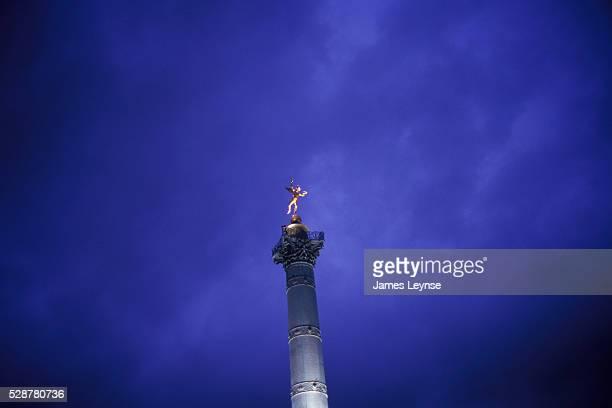Colonne de Juillet is a monument to the Revolution of 1830 It stands in the center of the Place de la Bastille in Paris to commemorate the Trois...