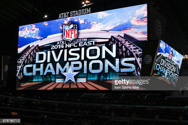 The jumbotron after the NFL game between the Dallas Cowboys and the Indianapolis Colts at ATT Stadium in Arlington TX Dallas wins 427