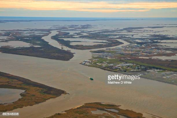 the jump, venice, louisiana, usa - mississippi delta stock photos and pictures