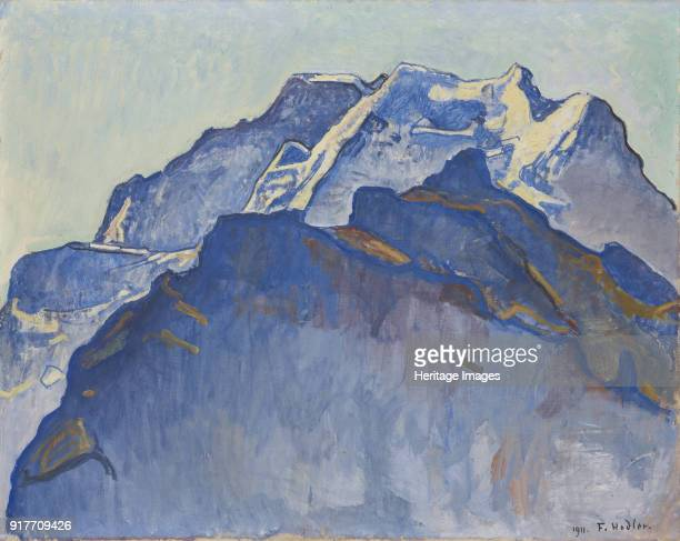 The Jungfrau as Seen from Muerren Found in the Collection of HahnloserJaeggli Stiftung Winterthur
