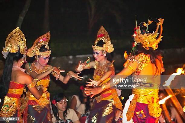 The Junungan Village, The Only Female Kecak Srikandhi, Ramayana Monkey Chant, Dance Troupe, Ubud, Bali.