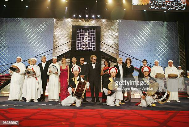 The Jury attends the John Rabe premiere at the 9th Marrakesh Film Festival at the Palais des Congres on December 4, 2009 in Marrakech, Morocco.