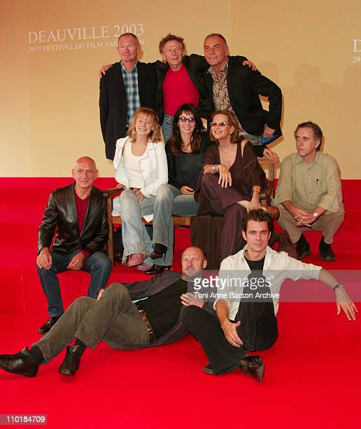 The Jury of the 29th American Film Festival of Deauville Roman Polanski Sir Ben Kingsley Ludivine Sagnier Anne Parillaud Claudia Cardinale