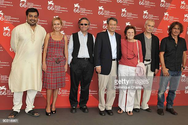 The jury president Ang Lee and the jury members attend the 'Venezia 66' Jury' photocall at the Palazzo del Casino during the 66th Venice Film...