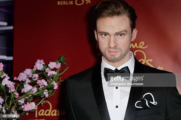 The Justin Timberlake wax figure in the newly VIP area at Madame Tussauds on April 2 2014 in Berlin Germany