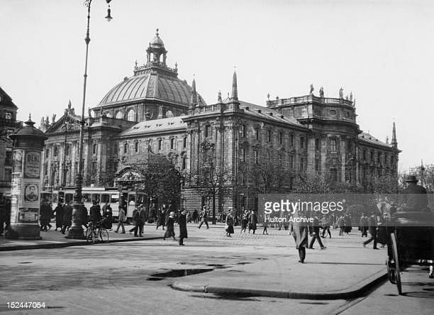 The Reichstag in Berlin Germany 1920