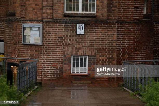 The JVA Kiel prison is seen on June 5, 2020 in Kiel, Germany. German police have announced that Christian B., an inmate at the prison who is serving...