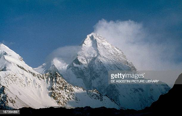 The K2 secondhighest mountain on Earth Karakoram Range Pakistan