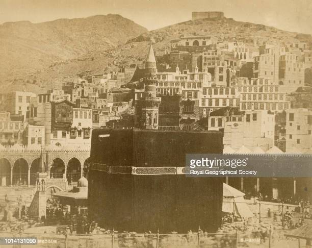 The Kaaba Mecca Saudi Arabia 1900