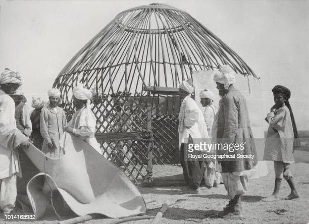 The Kabitka sent from Herat for the Commissioner Afghanistan 1903