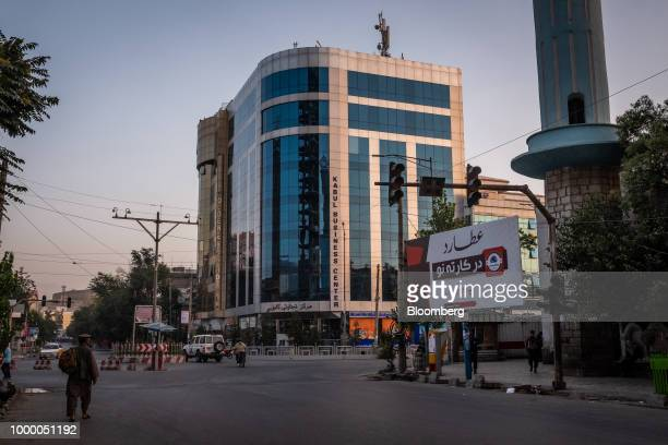The Kabul Business Center stands at Haji Yaqoob Square in Kabul Afghanistan on Sunday July 15 2018 US President Donald last year said 16000 US troops...