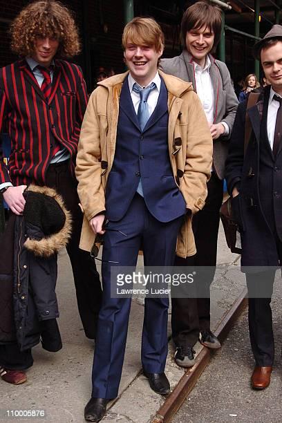 The Kaiser Chiefs of Leeds Simon Rix Ricky Wilson Nick Hodgson Nick Baines