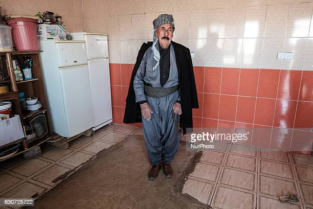 The Kakai Kurds are returning to their homes as Mosul offensive continiues in Tel Laban/ Gazakan on 30 December 2016 Mukhtar of Tel Laban village...