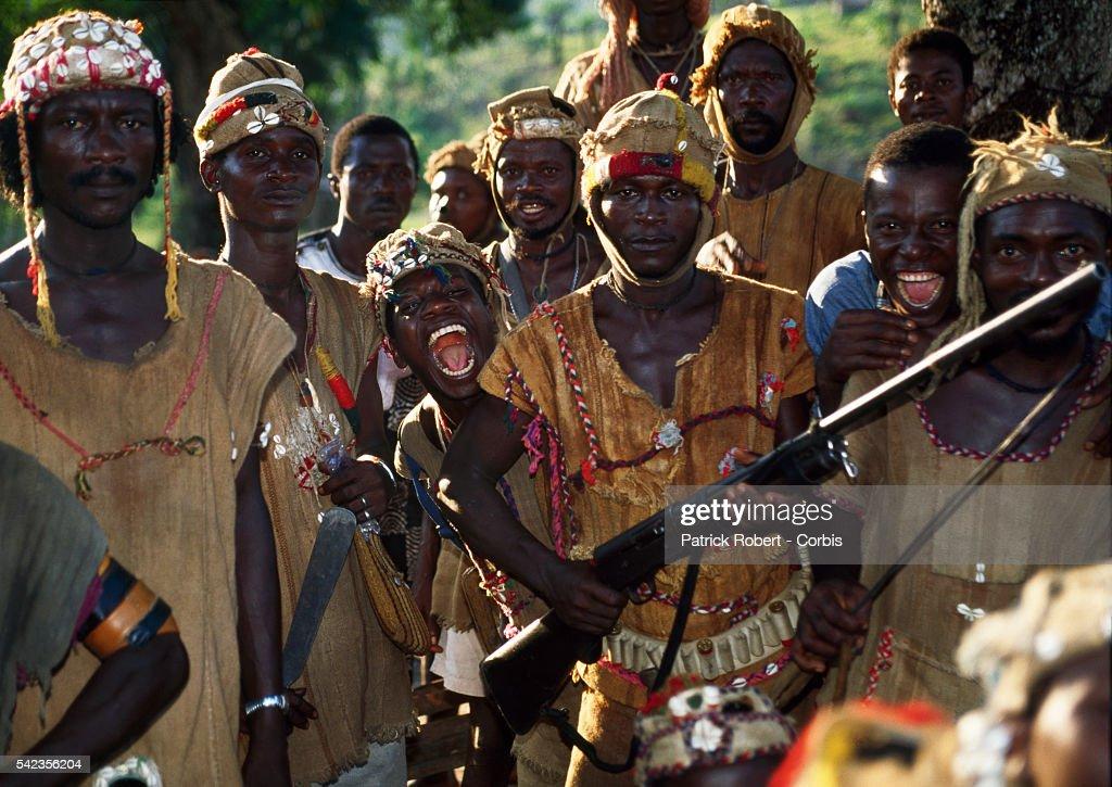 Civil War in Sierra Leone : News Photo