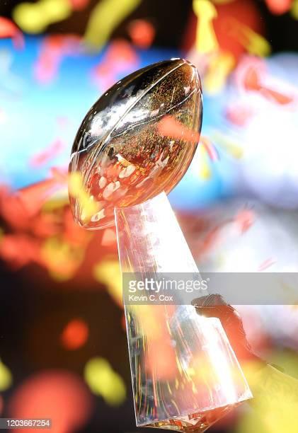 THE KANSAS CITY CHIEin Super Bowl LIV at Hard Rock Stadium on February 02, 2020 in Miami, Florida.