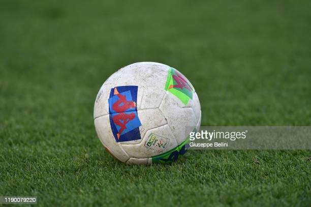 The Kappa official ball is seen during the Serie B match between Pisa SC and Cosenza at Arena Garibaldi on December 22, 2019 in Pisa, Italy.
