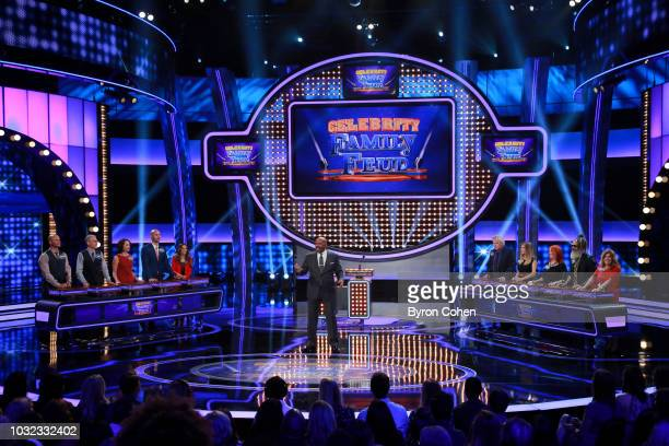 FEUD The Kardashian Family vs The West Family and Jana Kramer vs Gary Busey One of this season's favorite games of Celebrity Family Feud the...