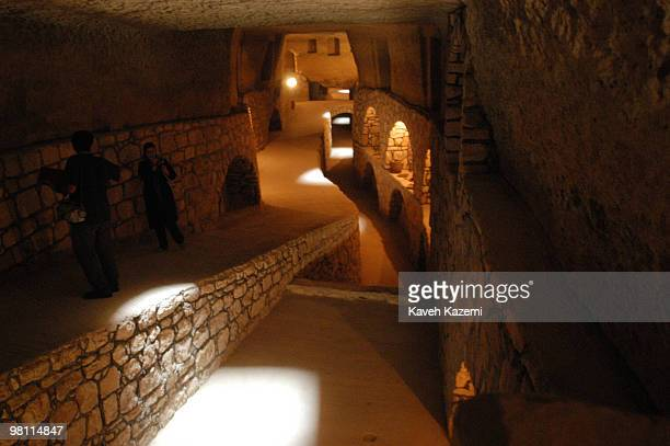 The Kariz Kish in Kish a resort island in the Persian Gulf Iran 4th November 1997 This underground aqueduct was built over 5000 years ago to gain...