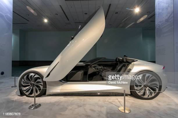 The Karma SC1 Vision is shown at AutoMobility LA on November 21, 2019 in Los Angeles, California. The four-day press and trade event precedes the Los...