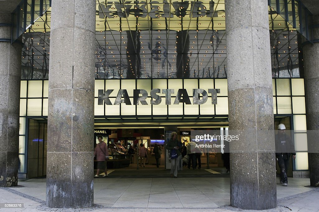 The Karstadt store at the Moenkebergstreet are seen on April 22, 2005 in Hamburg, Germany. The Karstadt Managment is still searching for a new CEO after Christoph Aschenbach has quit his CEO just after 10 months.
