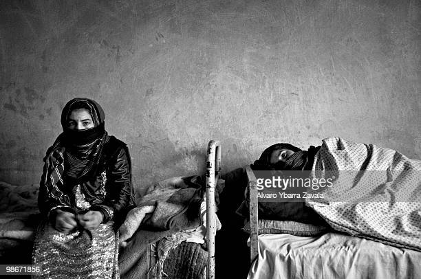 The Karte Parwan centre which is the National Institute for Tuberculosis 19 hospitalized women live there in a very basic house near a college which...