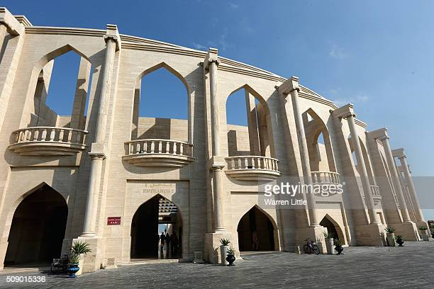 The Katara Cultural Village one of Qatar's leading tourist attractions ahead of the 2022 FIFA World Cup Qatar on December 27 2015 in Doha Qatar