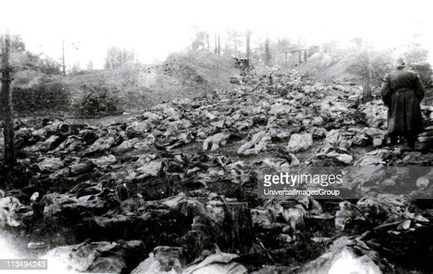 The Katyn massacre of thousands of Polish prisoners of war by the Soviet NKVD based on a proposal from Lavrentiy Beria to execute all members of the...