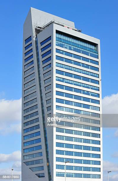 The KBC Arteveldetoren / MG Tower tallest office building in the federal region of Flanders Ghent Belgium