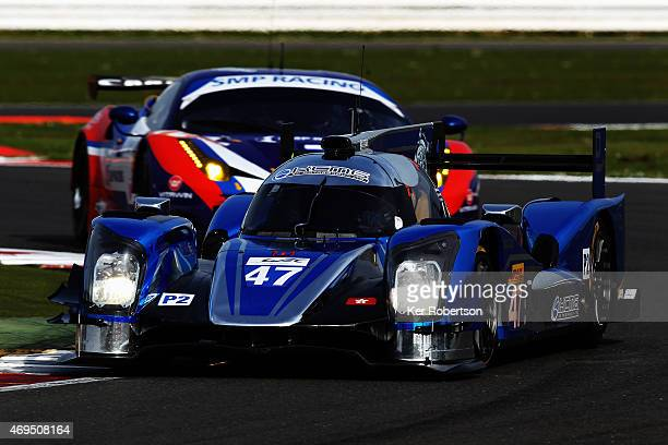 The KCMG Oreca Nissan of Matthew Howson Richard Bradley and Nicky Tandy drives during practice for the FIA World Endurance Championship 6 Hours of...