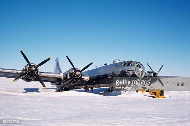 The Kee Bird was a B29 which was ditched in Greeland 270 miles north of Thule Air Base in 1947 and was restored in 19931995 only to burn in a taxi...