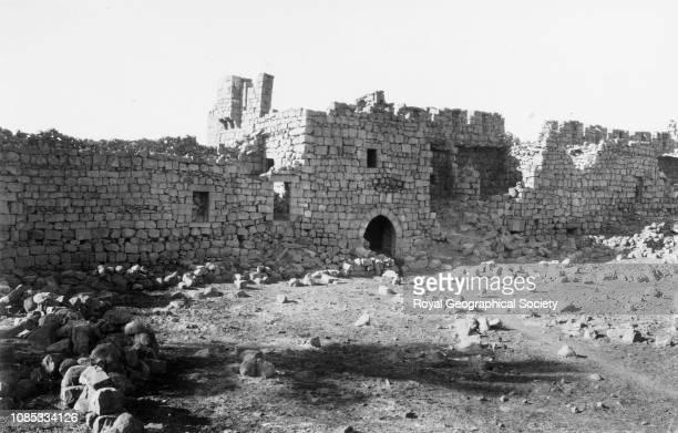 The keep at QasrelAzrak Jordan