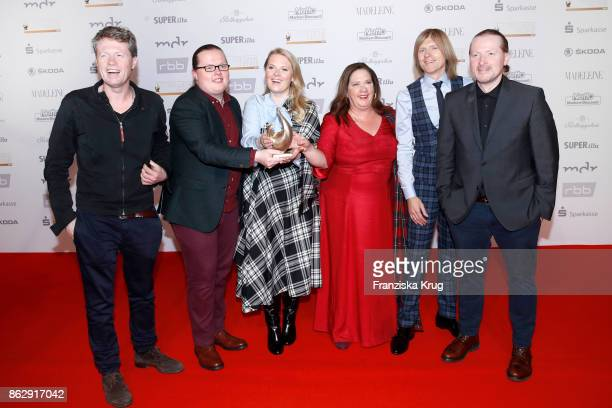 The Kelly Family attends the Goldene Henne on October 13 2017 in Leipzig Germany