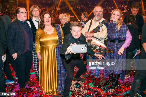 The Kelly Family during the 'Schlagerboom Das Internationale Schlagerfest' at Westfalenhalle on October 21 2017 in Dortmund Germany