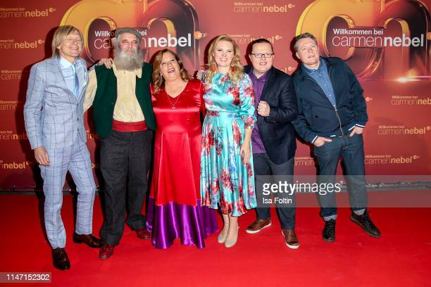 The Kelly Family during the television show 'Willkommen bei Carmen Nebel' at Velodrom on May 4 2019 in Berlin Germany