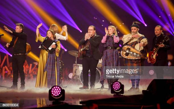 The Kelly Family perform at 'Schlagerboom Das Internationale Schlagerfest' at Westfalenhalle on October 21 2017 in Dortmund Germany