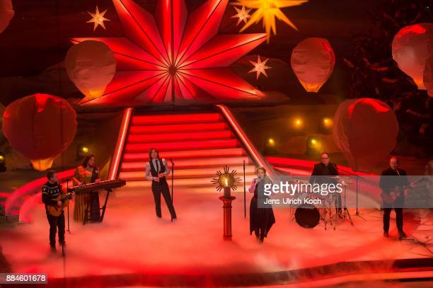 The Kelly Family performs at Das Adventsfest der 100000 Lichter TV show on December 02 2017 in Suhl Germany