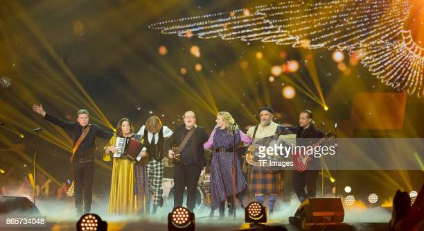 The Kelly Family performs the 'Schlagerboom Das Internationale Schlagerfest' at Westfalenhalle on October 21 2017 in Dortmund Germany