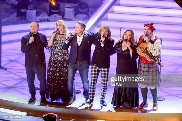 The Kelly Family with Joey Kelly Patricia Kelly Jimmy Kelly John Michael Kelly Kathy Kelly and Paul Kelly perform during the annual tv show 'Das...