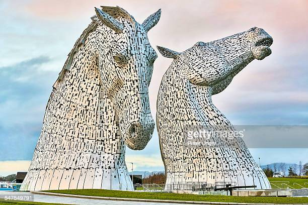 The Kelpies,Falkirk,Scotland