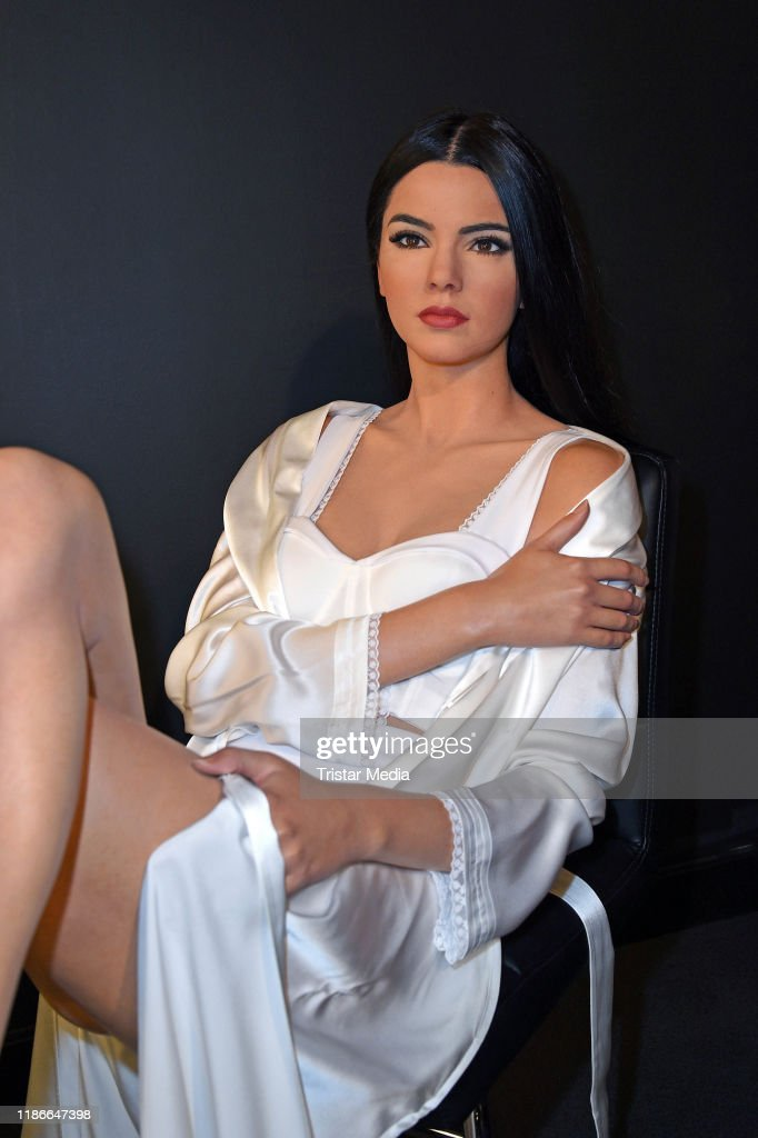 Kendall Jenner Wax Figure Unveiled At Madame Tussauds Berlin : News Photo