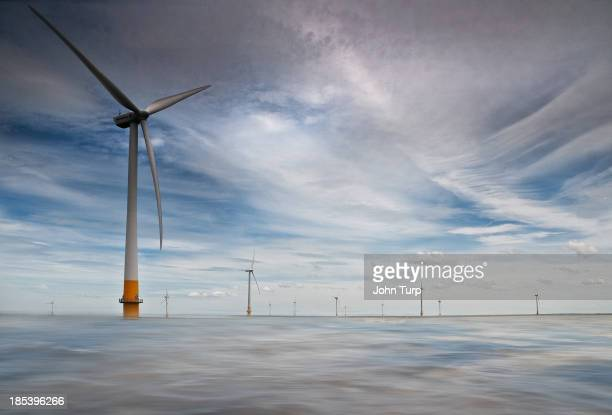 CONTENT] The Kentish Flats Windfarm off the North Kent coast 5 miles from Herne Bay The wind farm consists of 30 Vestas V903MW wind turbines with a...
