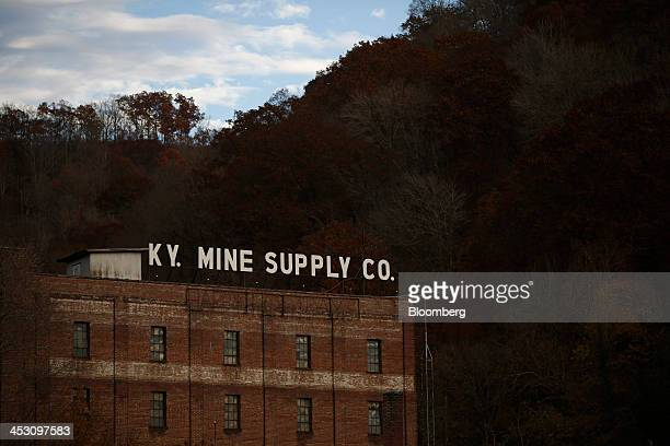 The Kentucky Mine Supply Company building stands in Harlan Kentucky US on Tuesday Nov 5 2013 In 2011 coal was used to generate 303 percent of the...