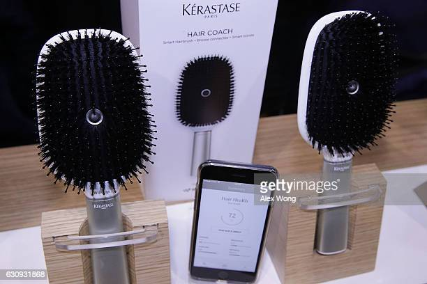 The Kerastase Hair Coach Powered by Withings the world's first smart hairbrush developed in collaboration with L'Oreal's Research and Innovation...