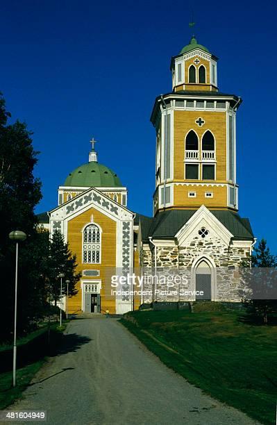 The Kerimaki Church in Kerimaki Finland